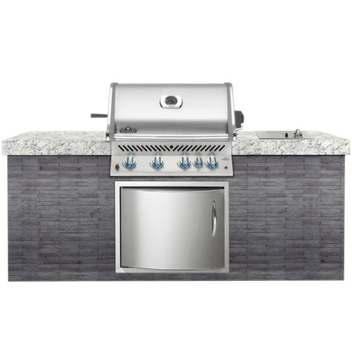 PRO600RBI Built In Gas Barbecue Head