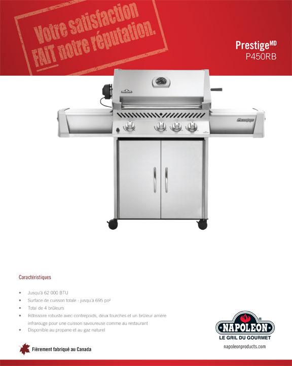 Prestige P450 Gas Grill