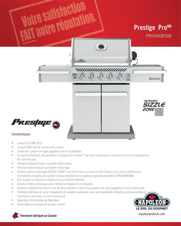 Prestige PRO450RB Gas Grill