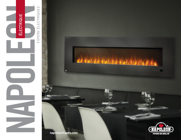 Electric Fireplace Brochure